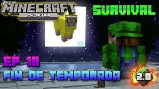 Minecraft PSP | Survival | Episodio 10 | Fin de temporada 3 | HD | luigi2498