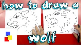 peter and the wolf drawing lesson