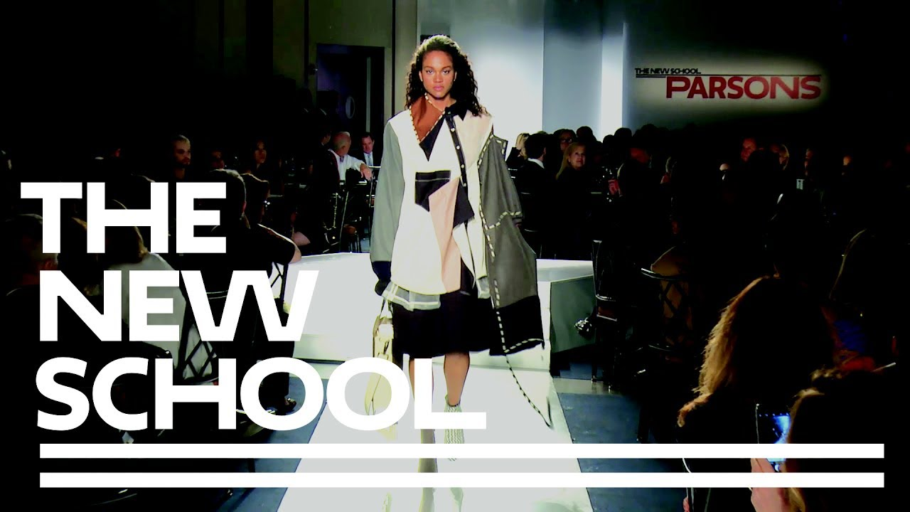 Parsons Bfa Fashion Design 2017 Runway Show Parsons School Of Design Youtube