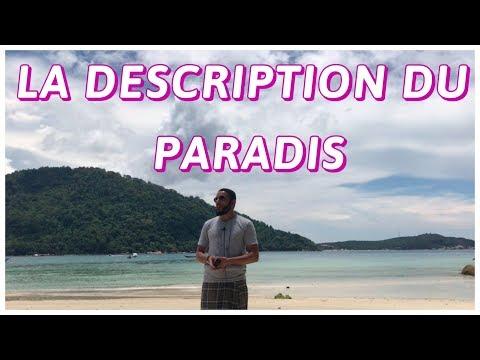 La description du Paradis.  Rachid Eljay