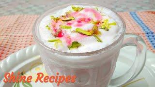 💐Ramazan Special 💐 Roohafza Milk Shake  बनाये इफ्तारी मे instant मिल्क शेक