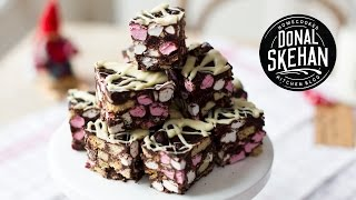 BEST Christmas Rocky Road!
