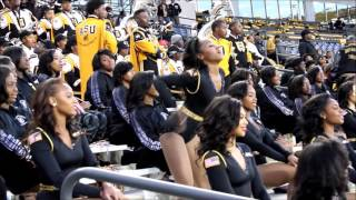 """Alabama State Stingettes """"Hoe  Check"""" (Prarie View"""