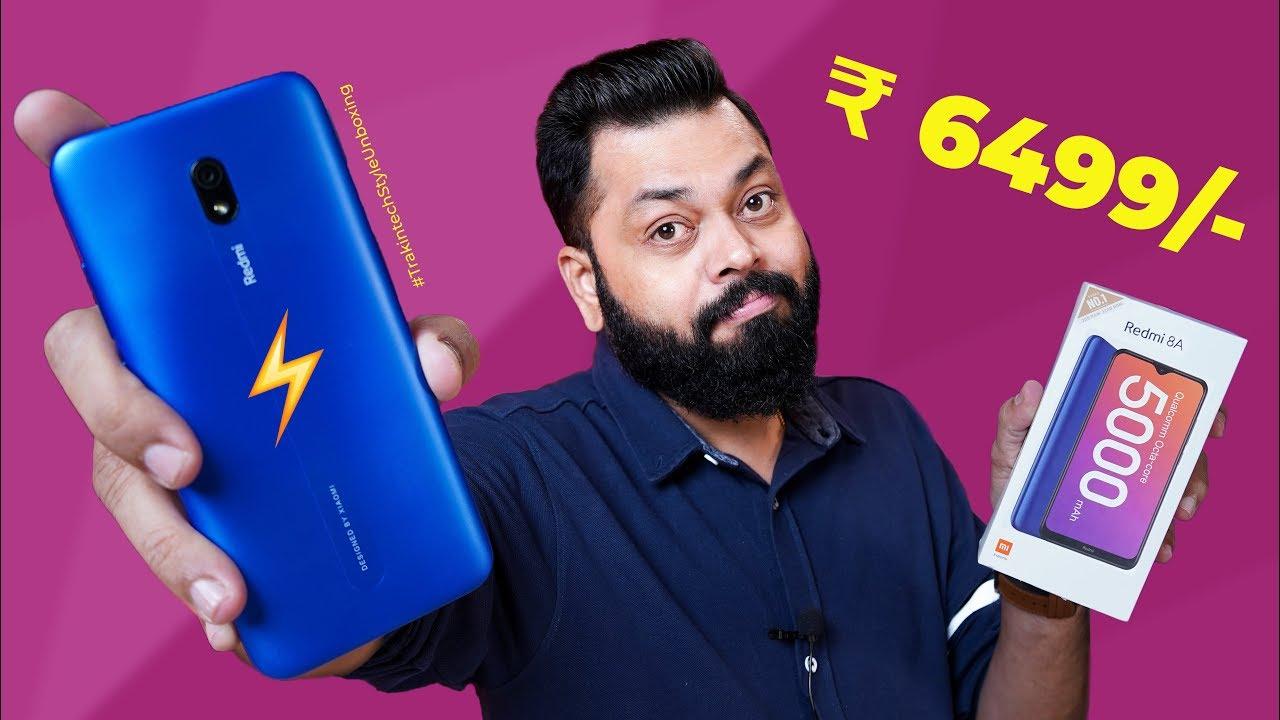 Download Redmi 8A Unboxing & First Impressions ⚡⚡⚡ Budget Smartphones Ka Raja!