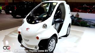 Toyota Coms EV - Short Review