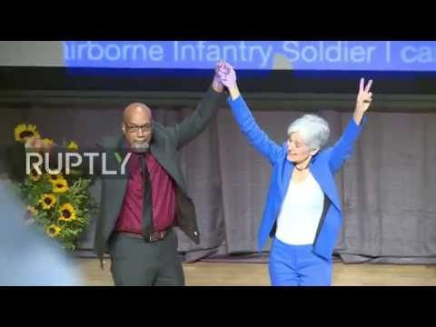 USA: Jill Stein accepts Green Party presidential nomination