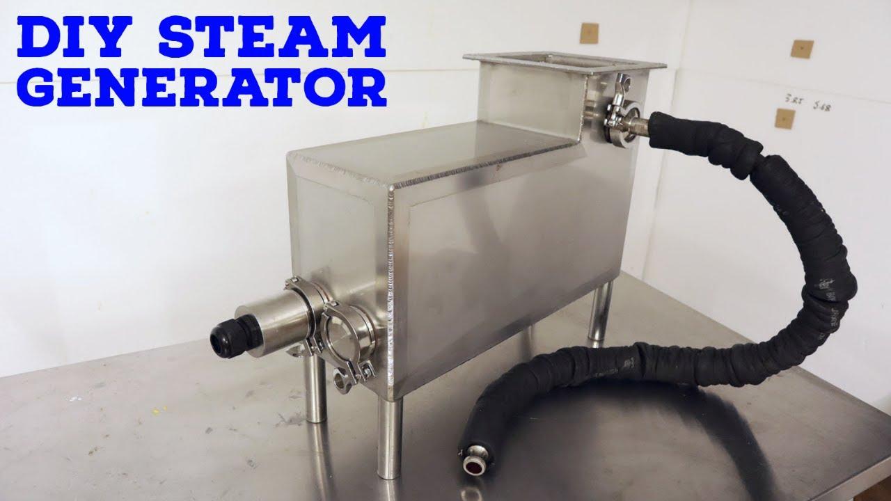 DIY Steam Generator for Urban Mushroom Farming