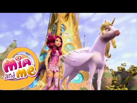 O Unicórnio De Fogo - Temporada 1 Episódio 13 - O Mundo de Mia - Mia and me