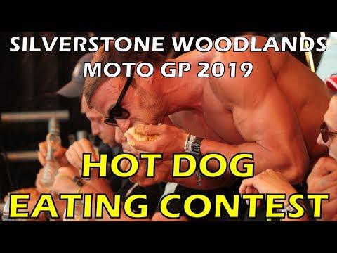 Hot Dog Eating Contest - Moto GP 2019 - Silverstone Woodlands
