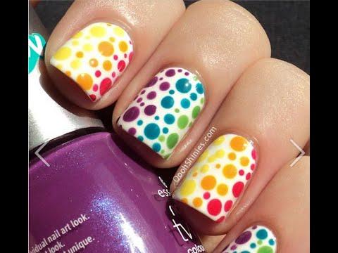 Разноцветные ногти: фото, сочетание цветов, 2 цвета