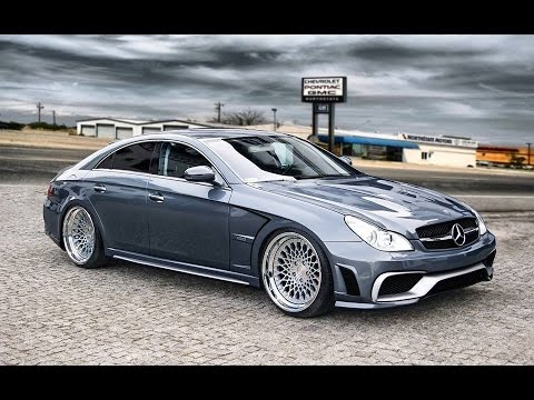 mercedes cls w219 tuning body kit youtube. Black Bedroom Furniture Sets. Home Design Ideas