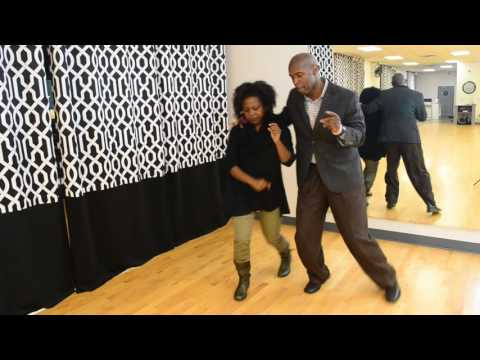 Groove Theory Dallas - Chicago Steppin Class Video