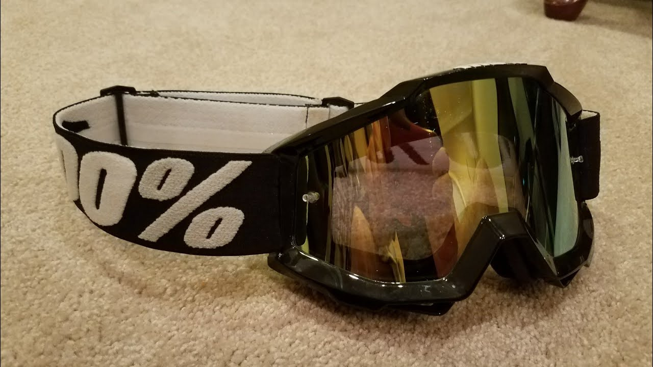 How To Change 100 Goggle Lens Youtube