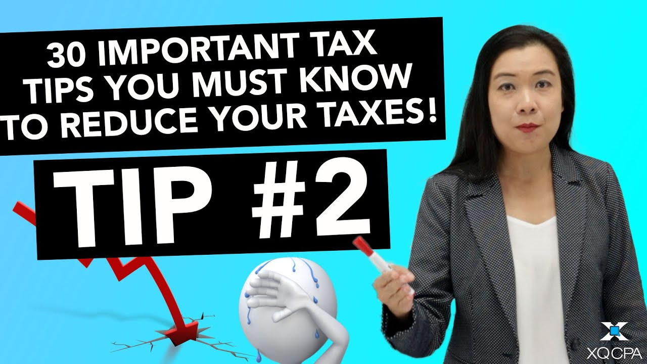 30 Important Tax Tips You Must Know to Reduce Your Taxes! - #2 Accurate Profit & Loss Statement