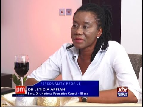 Dr. Leticia Appiah – Personality Profile on JoyNews (18-1-19)