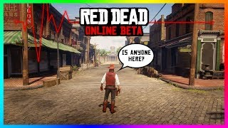 Red Dead Online Is A Ghost Town - How Rockstar Can Revive This DYING Multiplayer World! (RDR2)