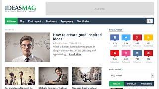IdeasMAG - Responsive Blogger Template (Installation)