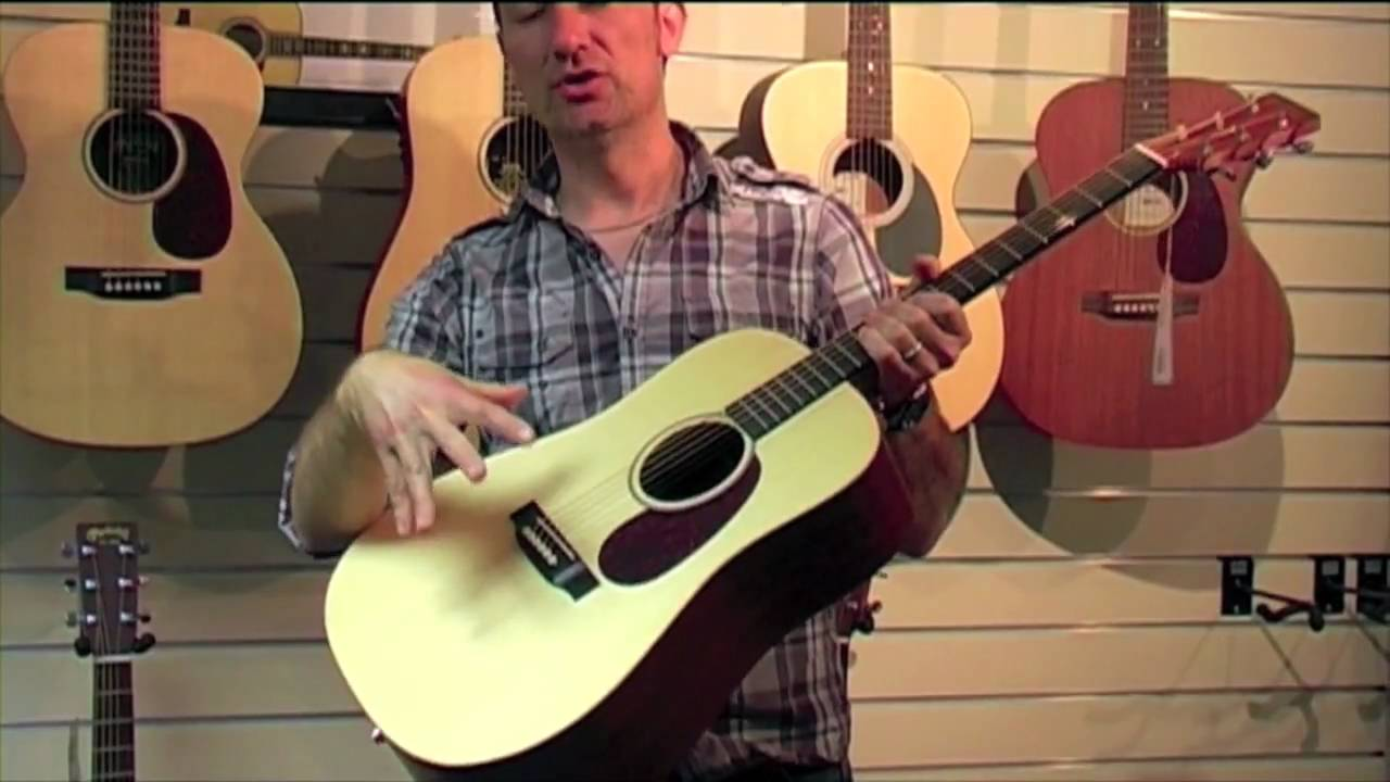 Martin DX1AE X-Series acoustic guitar review - Nevada Music UK