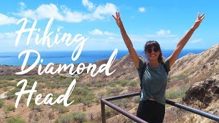 Hiking Diamond Head   Oahu, Hawaii