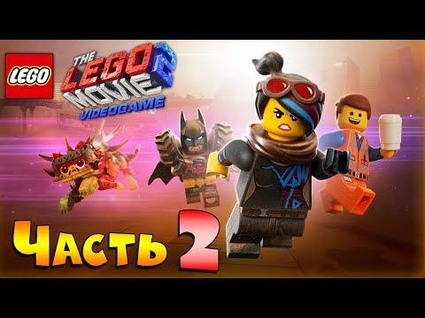 Прохождение The LEGO Movie 2 Videogame [Часть 2] Огромный лего-Динозавр!