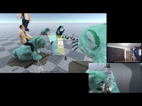 Timelapse - Building multiplayer VR experiences in VR (for NeosVR hub)