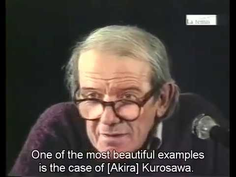 What is the Creative Act - Gilles Deleuze 1987 (English Subs)