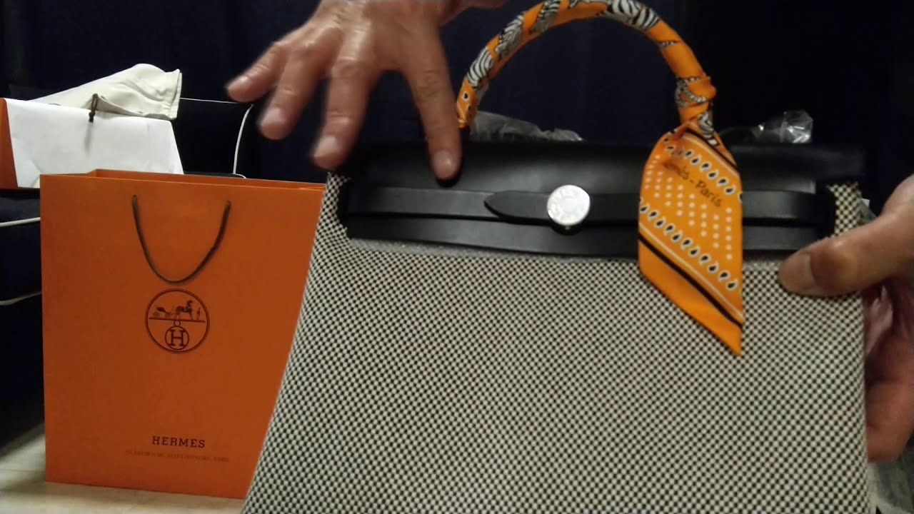UNBOXING OF HERMES LIMITED EDITION HERBAG COLLECTION #HERMES #HERBAG #UNBOXING #LUXURY #HUAL