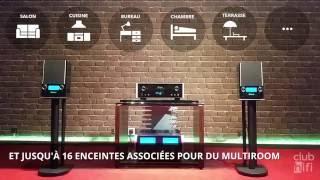 Présentation de l'enceinte McIntosh RS100 par Club Hifi Bordeaux