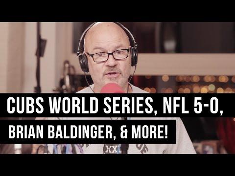 Chicago Cubs World Series, NFL QBs, & Brian Baldinger | Tony Bruno Live!
