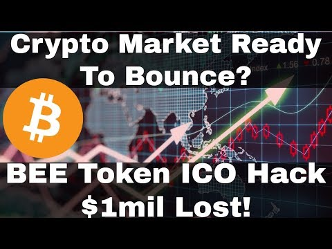 Crypto News | Crypto Market Ready To Bounce? Bee Token ICO H