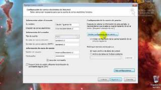 Repeat youtube video Configuración Microsoft Outlook 2010