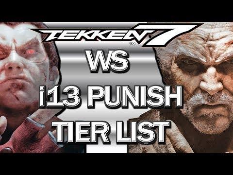Ranking i13 ws Punishers From WORST To BEST / Tekken 7 Tier List
