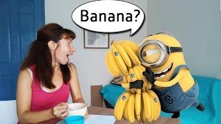 Рисовая каша с бананом. Десерт или завтрак?