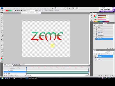 testo sfumato con photoshop cs4 by zeme