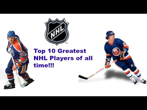 Top 10 Greatest NHL Players of All Time!!!