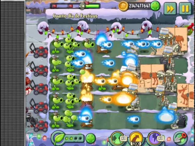 Plantas VS Zombies 2 navidad Travel Video