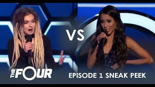 LEAK: Zhavia vs. Elanese - A Peek At The FIRST Audition Challenge | Episode 1 | The Four