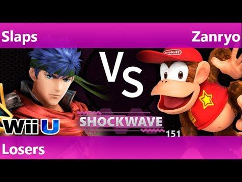 SW 151 - SWG | Slaps (Ike) vs Zanryo (Diddy) Losers - Smash 4