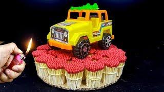 EXPERIMENT Match VS Toy Car Jeep thumbnail
