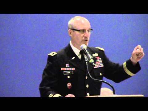 Major General Gregory A  Lusk Adjutant General North Carolina National Guard