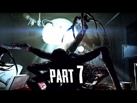 The Evil Within Walkthrough Gameplay Part 7 - Spider Lady Boss (PS4)