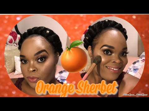 Orange Sherbet #orangemakeuplook thumbnail