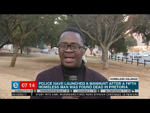 Update   Pretoria killings