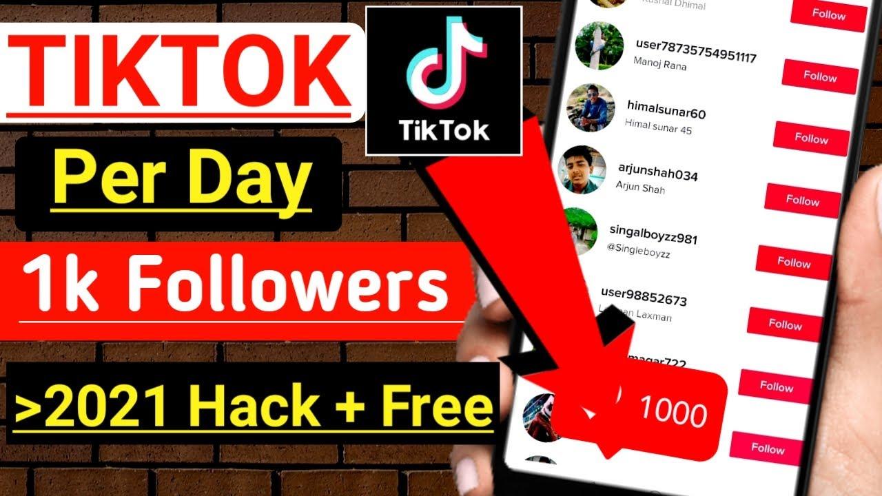 Download How To Get 1000 TIKTOK Followers Per  Day 2021 || Free Tiktok Followers Hack 2021 ||