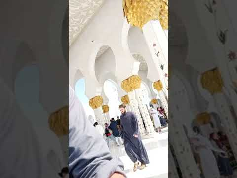 Grand Mosque Abu Dhabi  Sheikh Zayed Mosque