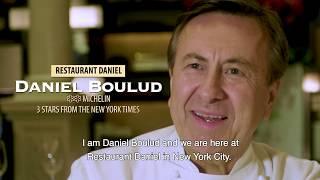 GastroTour Cinco Jotas New York: Daniel restaurant and chef Daniel Boulud