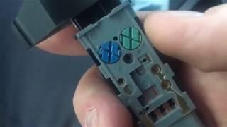 Замена лампы подсветки кнопок бороды Kyron