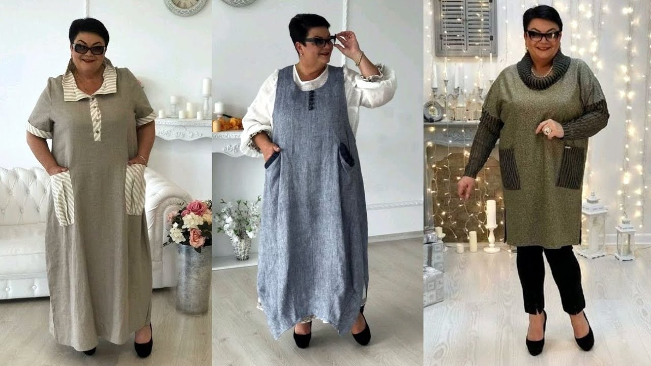 Бохо стиль для полных женщин 50 лет. Модная одежда на ...