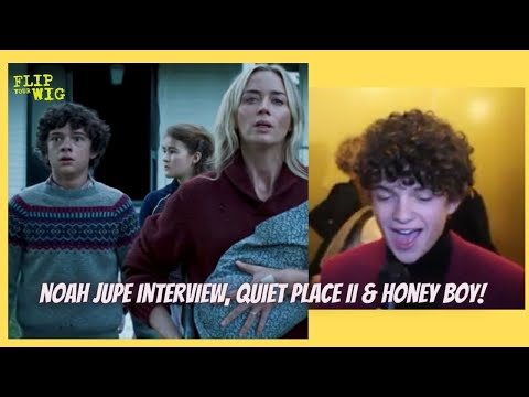 NOAH JUPE INTERVIEW!! CHATS ABOUT BEING A CHILDSTAR/HONEYBOY & QUIET PLACDE 2!!