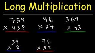Math - Long Multiplication
